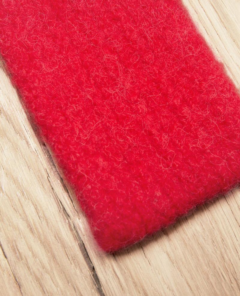 Knitted headband Molten lava Jihead