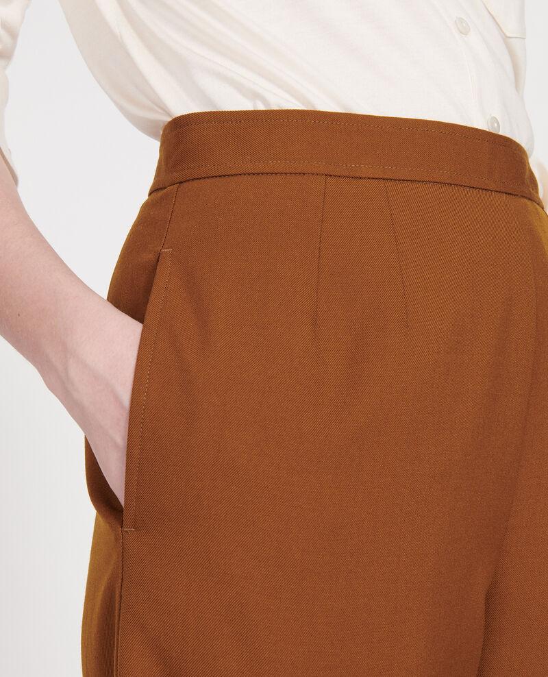 Smooth wool bermuda shorts Monks robe Lancelou