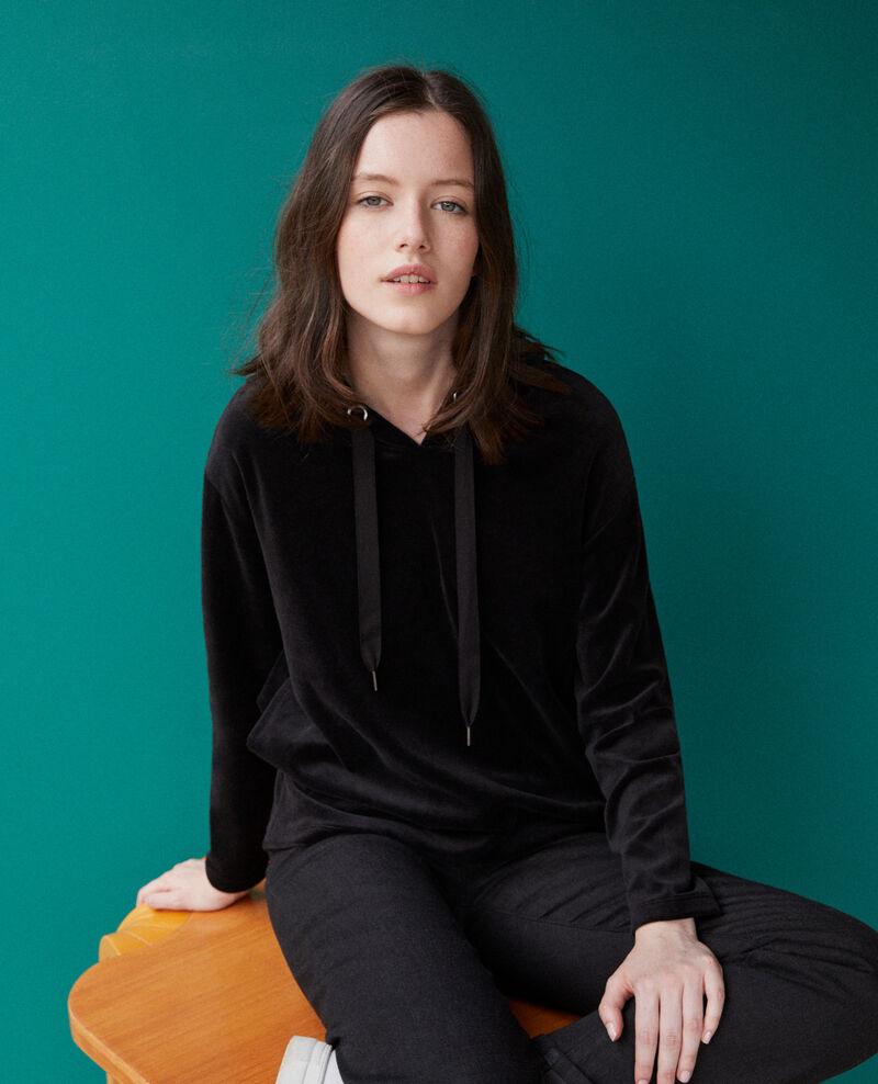 Hooded sweater Black Ginou