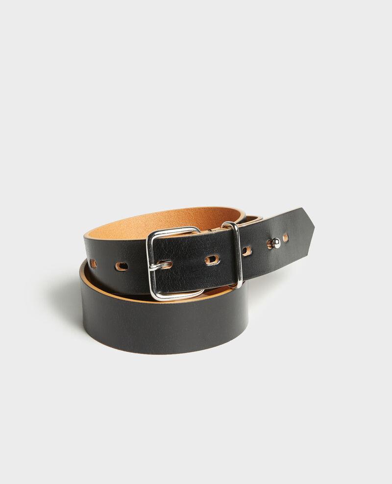 Leather belt Black beauty Larare