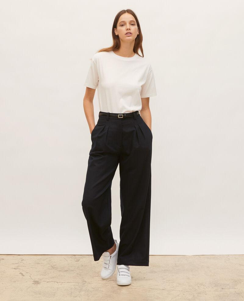 Oversize cotton t-shirt Jet stream Maincy