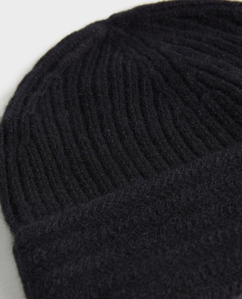Cashmere beanie Black beauty Minzac