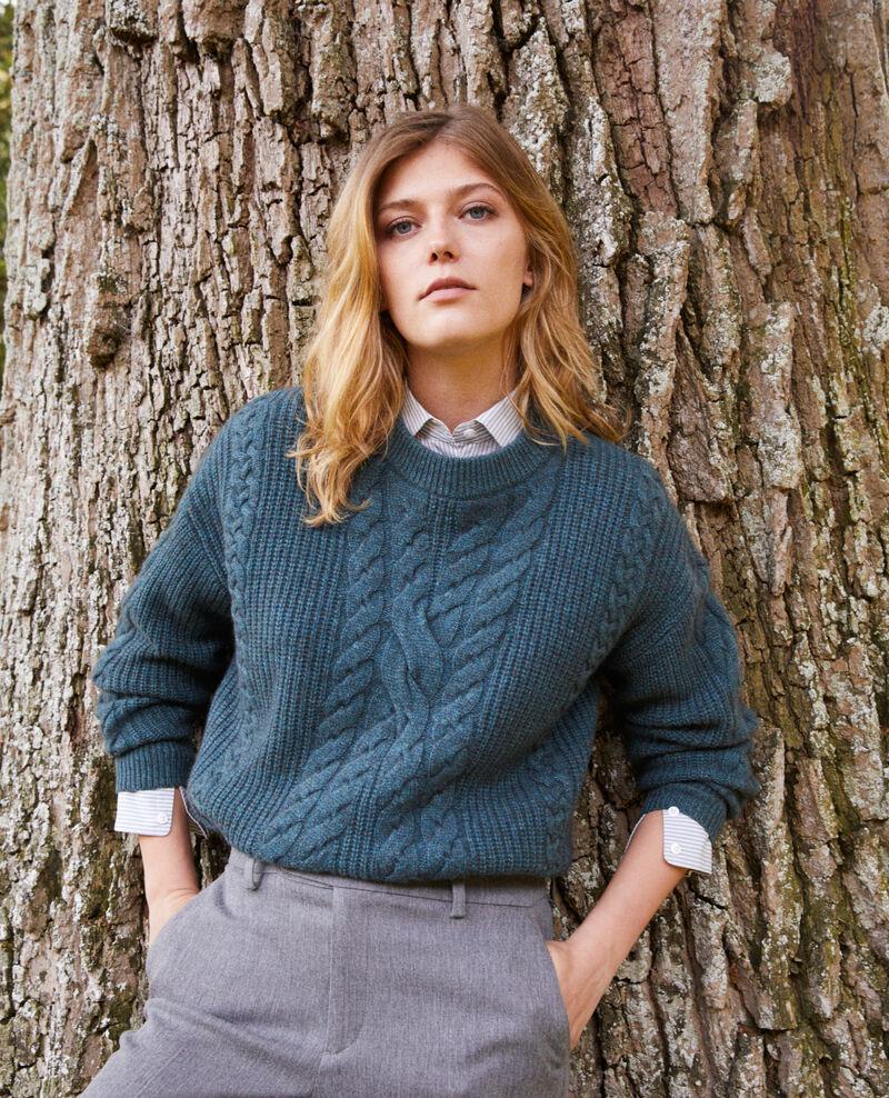 Cable-knit jumper Scarab Jop