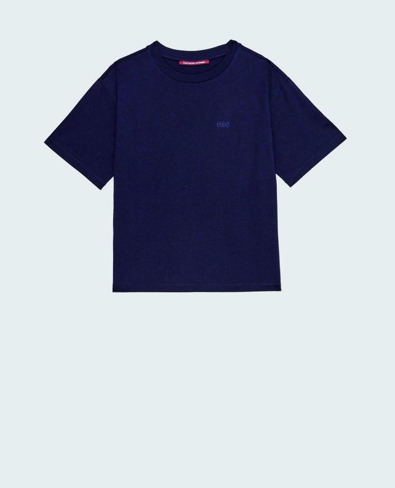 Oversize cotton t-shirt Night sky Maincy