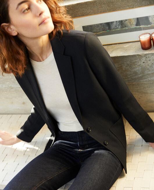 Suit-style jacket NOIR