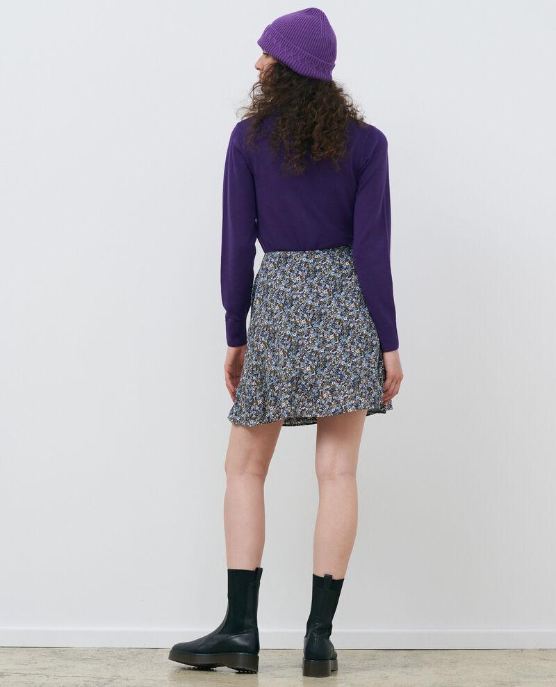Round neck merino wool jumper Acai Passy