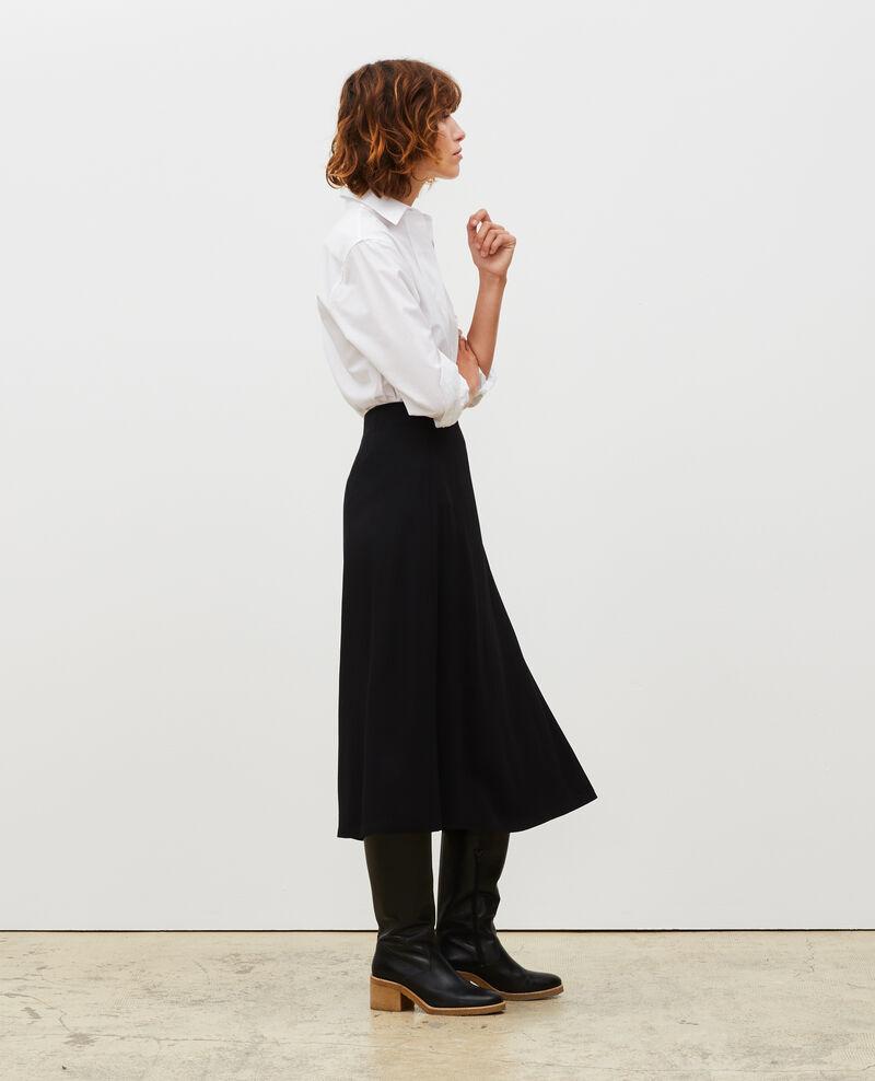 Midi wrap skirt Black beauty Mutz