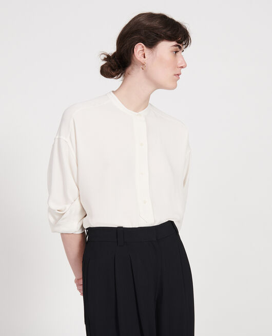 Straight-cut blouse GARDENIA