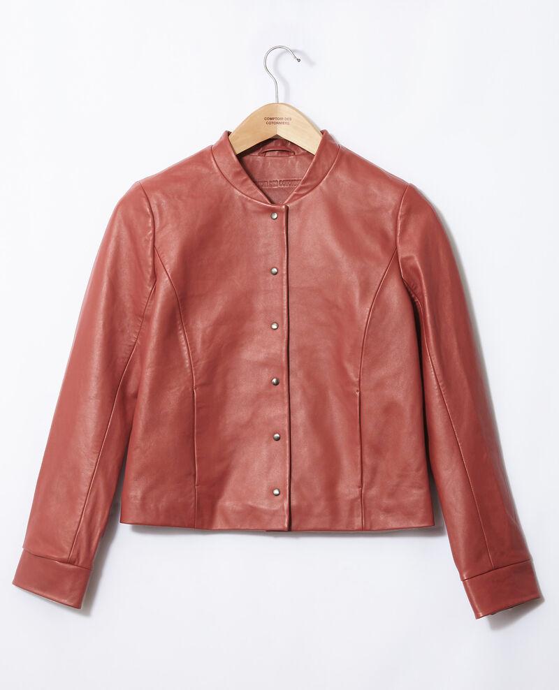 Leather bomber jacket Cowhide Gabinien