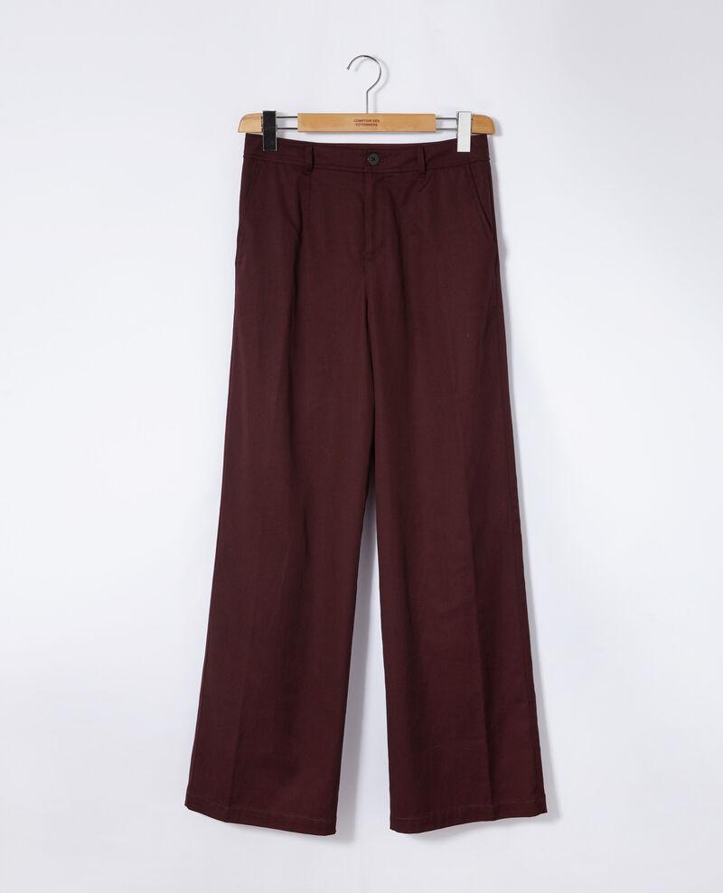 Loose fit trousers Brown Gabin