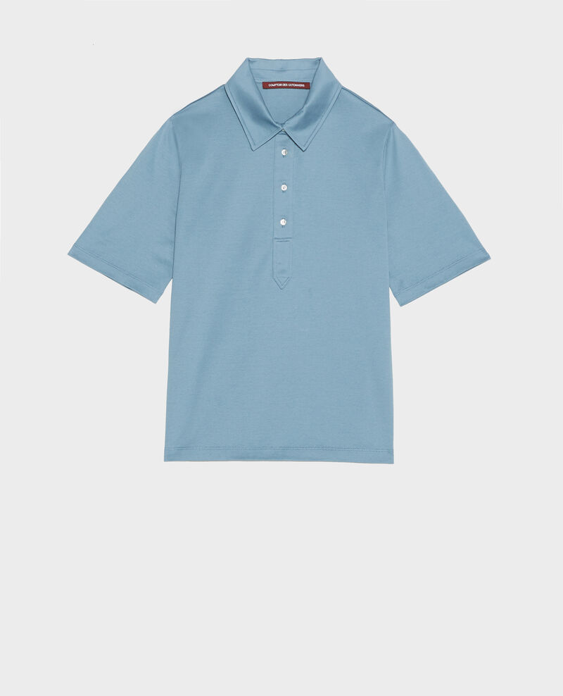 Cotton polo shirt Bluestone Levas
