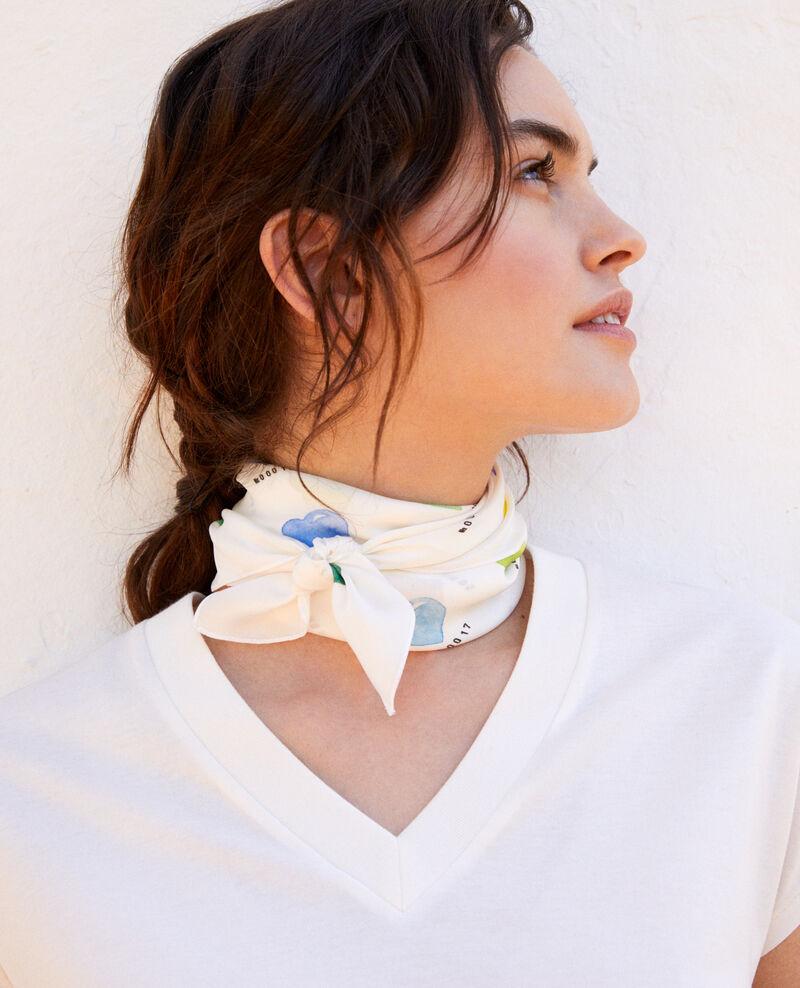 Silk scarf Coeur multi Ifou