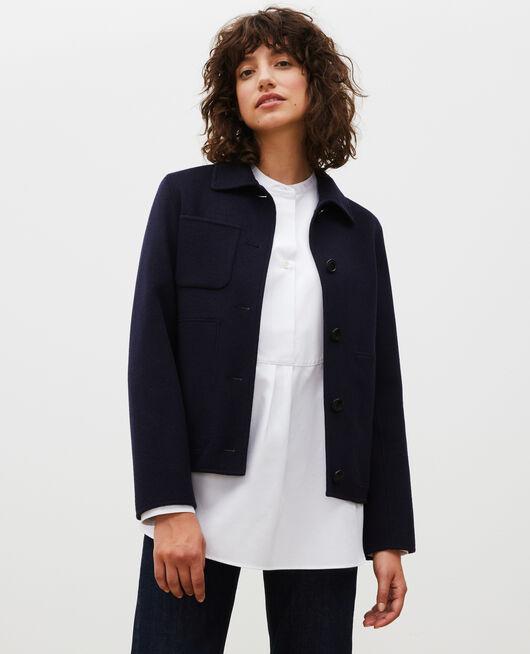 Double-sided wool jacket NIGHT SKY