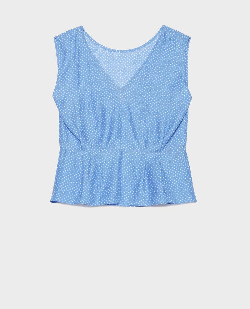 Silk blouse Memphis persian jewel Lafox