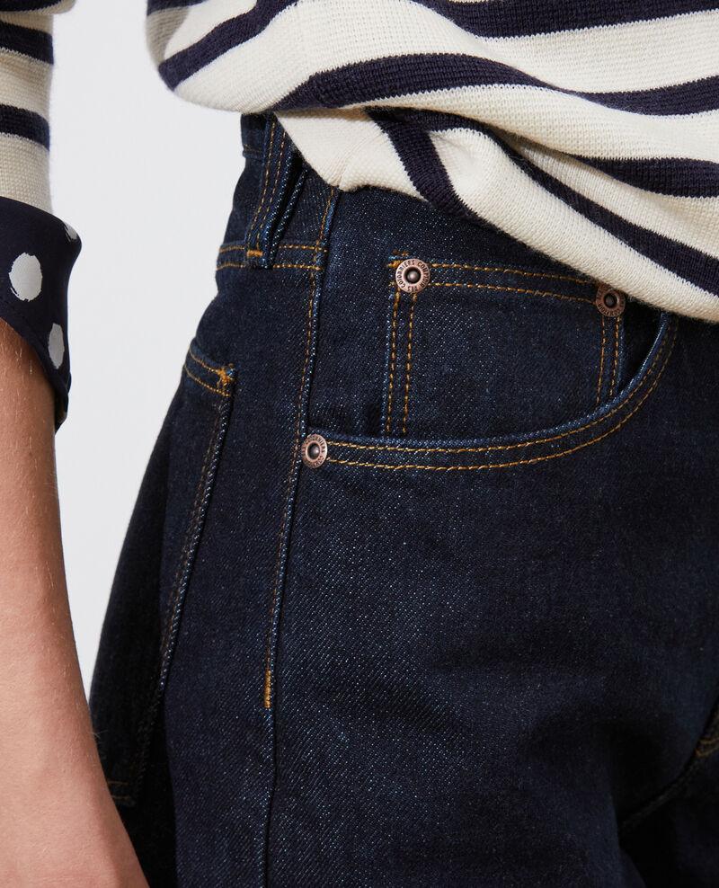 SYDONIE - BALLOON - Wide high-waisted 7/8 jeans Denim rinse Palloon