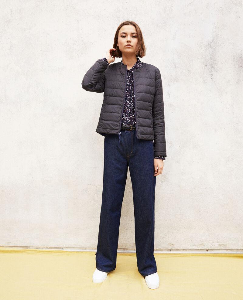 Iconic Mademoiselle Plume down jacket Saphire navy/noir Illopou