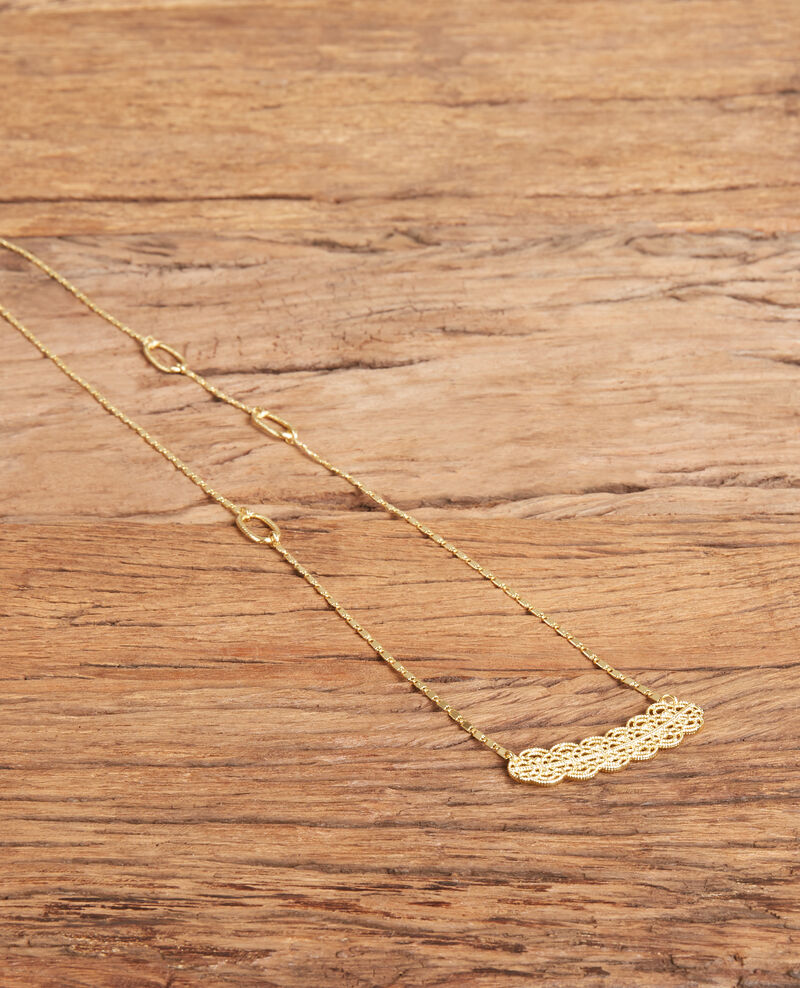 Novelty necklace Gold Firmament