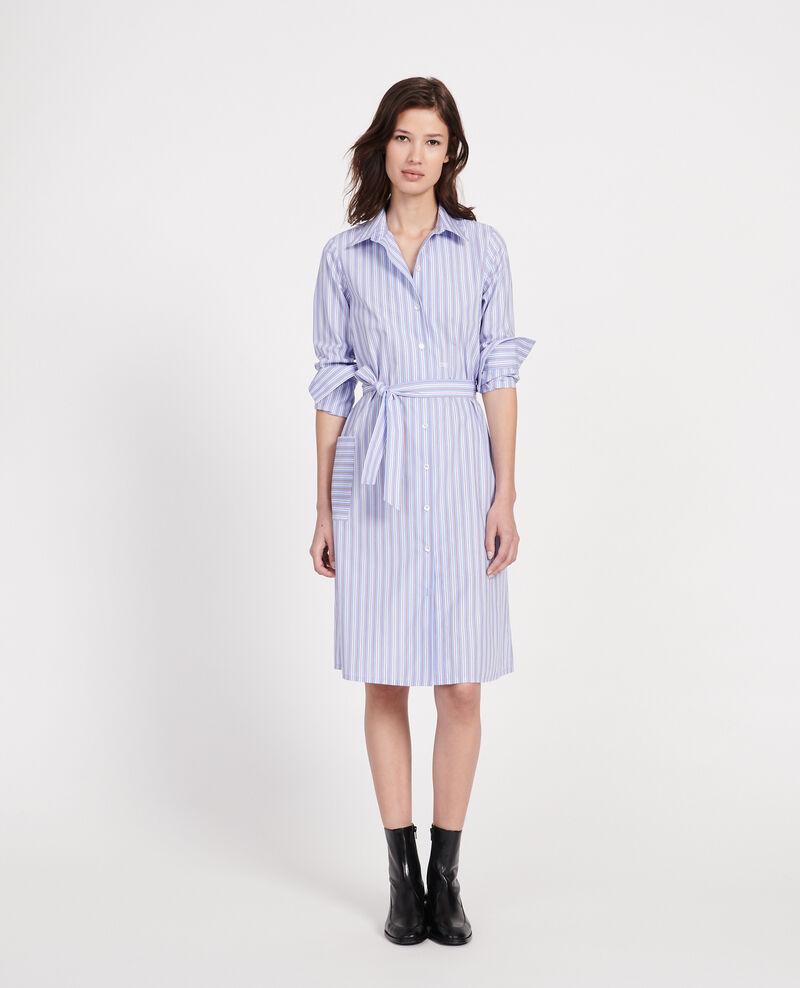 Poplin shirt dress Popeline stripes Lenka