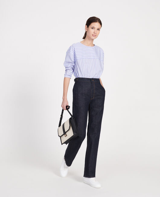 Wide leg jeans  DENIM RINSE