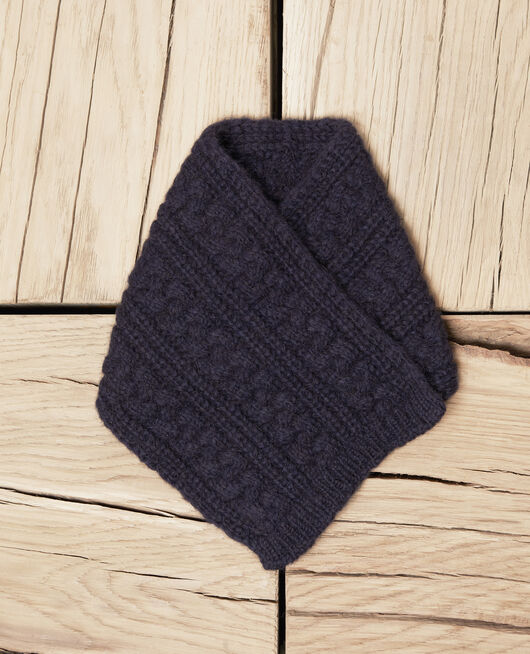 Knitted collar DARK NAVY
