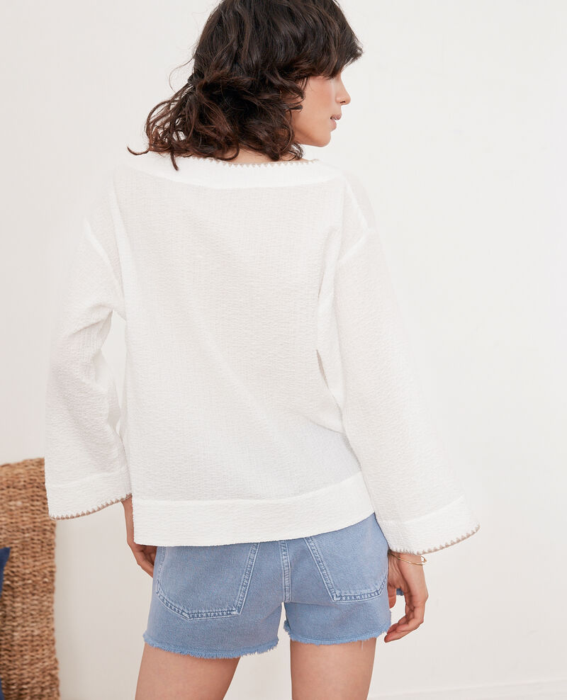 2-in-1: jacket or casual top Kaolin Fapeau