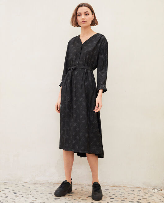 Midi dress HURLY BURLY NOIR