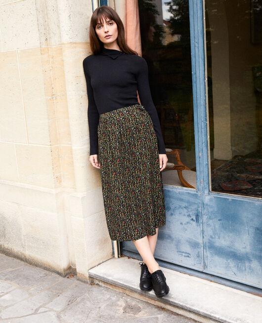 Wrap skirt DAPHNE NOIR