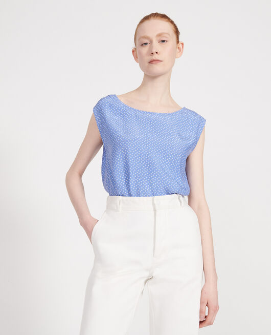 Silk blouse MEMPHIS PERSIAN JEWEL