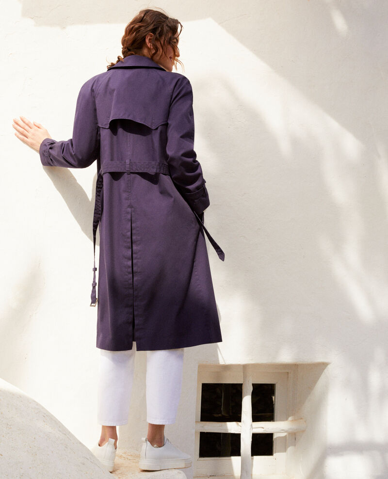 Timeless trench coat Ink navy 9illary