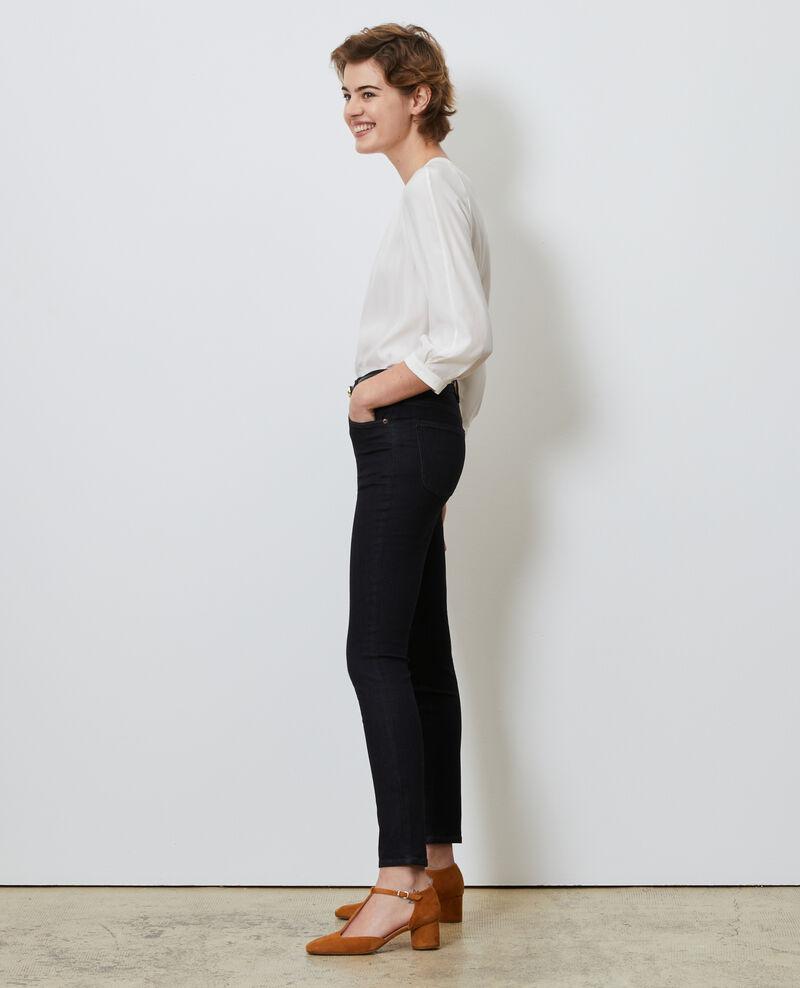 DANI - SKINNY - High waisted jeans Rinse wash Nauke
