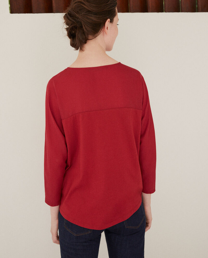 Fabric blend t-shirt Rio red Genious