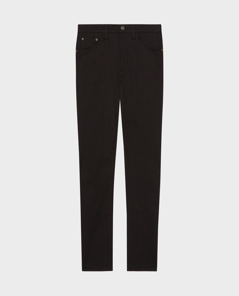 DANI - SKINNY - 5 pocket jeans Black beauty Mozakiny