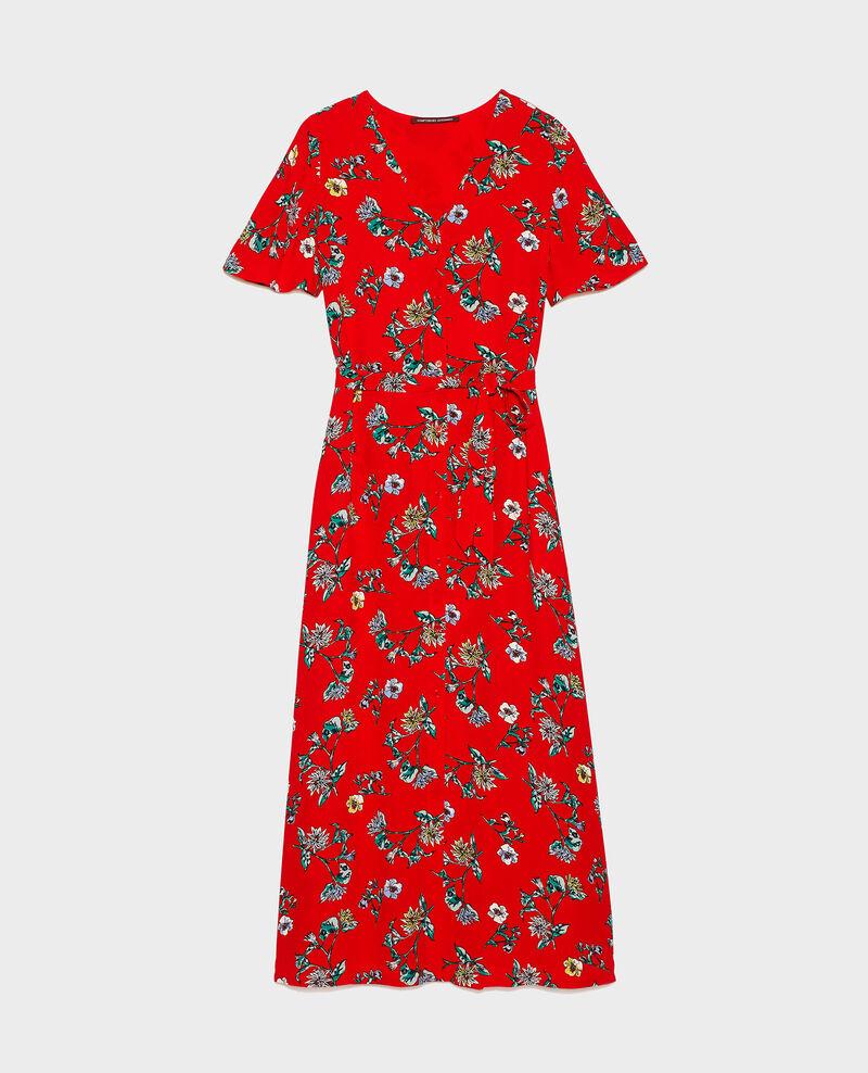 Maxi dress Herbier fiery red haze Lavish