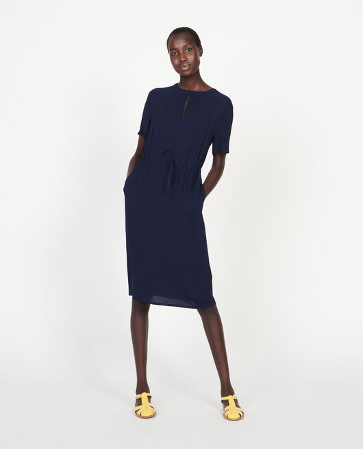 Straight and loose dress MARITIME BLUE