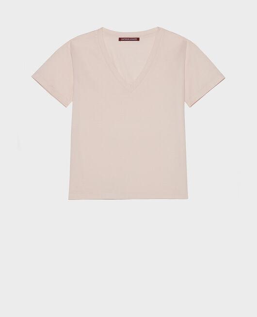 Cotton t-shirt PRIMROSE PINK