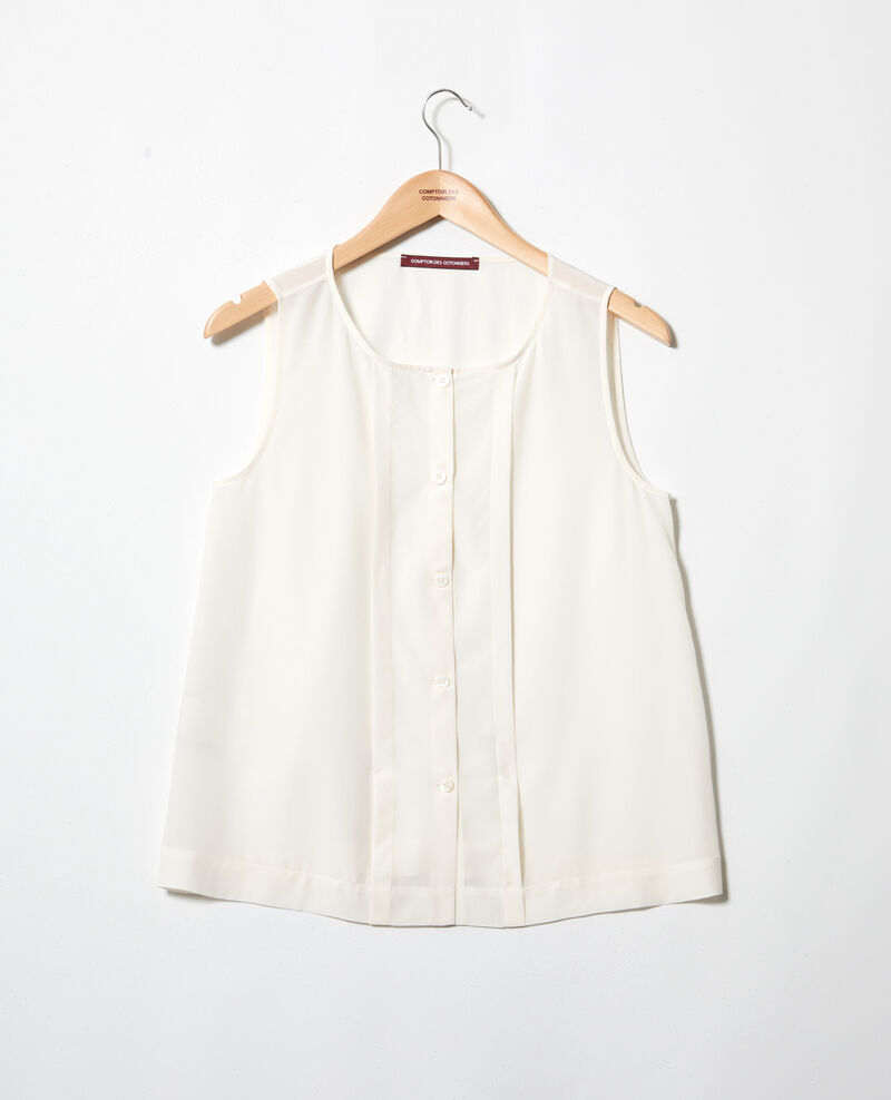 Silk vest Off white Icon