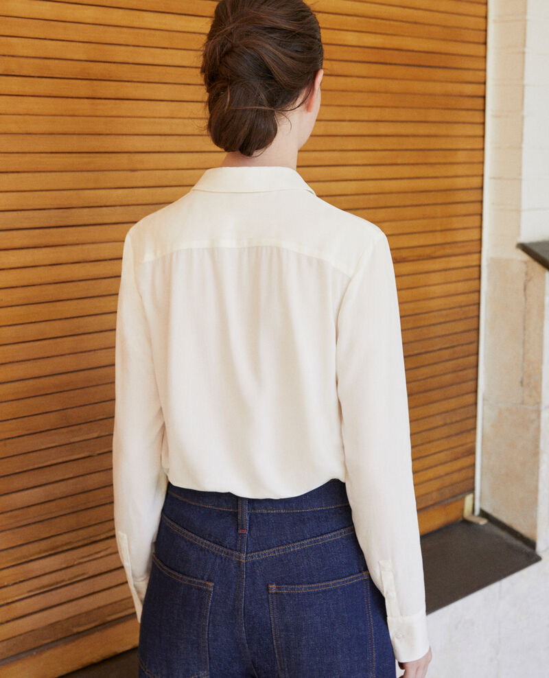 Straight-cut shirt Off white 9danimo