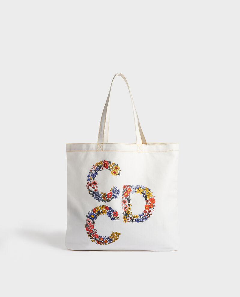 Printed canvas bag Gold fusion Moncdc
