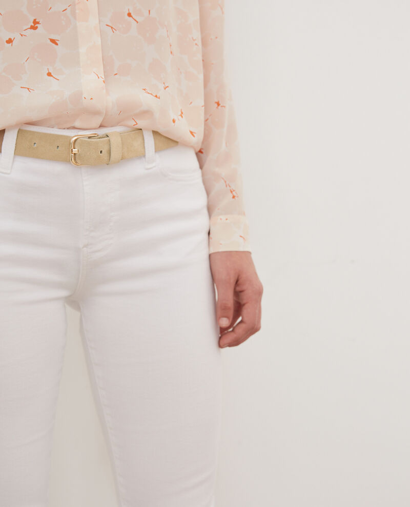 Suede leather belt Clay Ferie