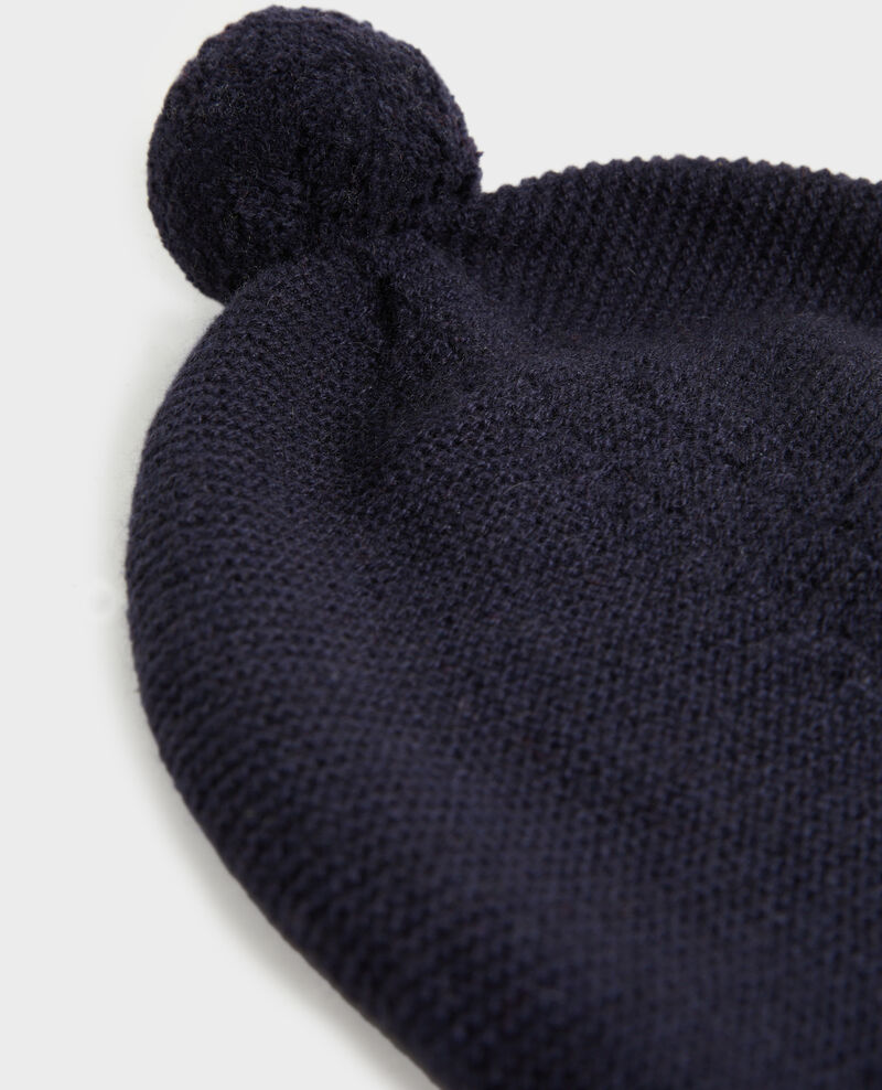 Cashmere bobble hat Night sky Mimizan