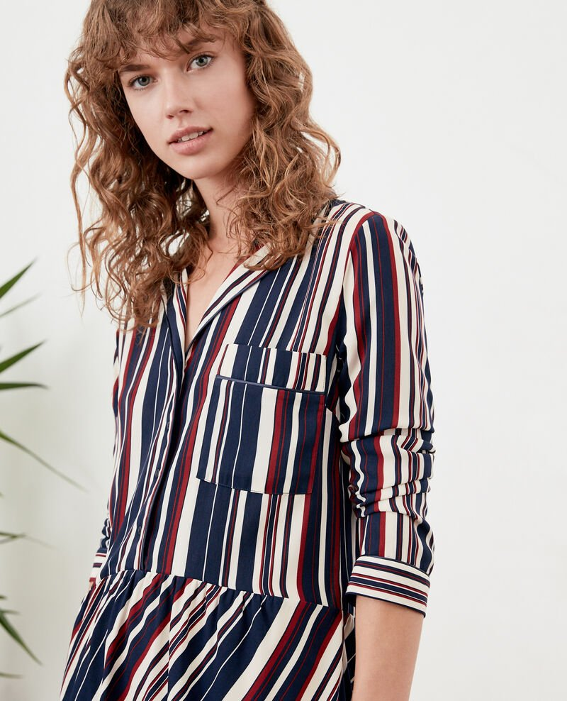 Striped dress Stripes marine/devil Dorothy