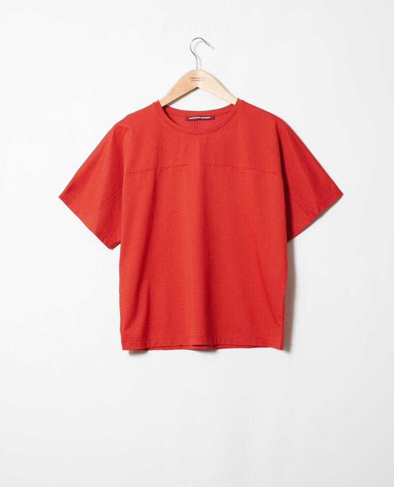 Cotton T-shirt Molten lava Jokari