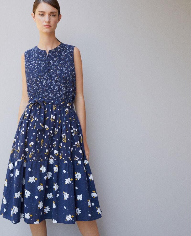 Printed dress Blue Garry
