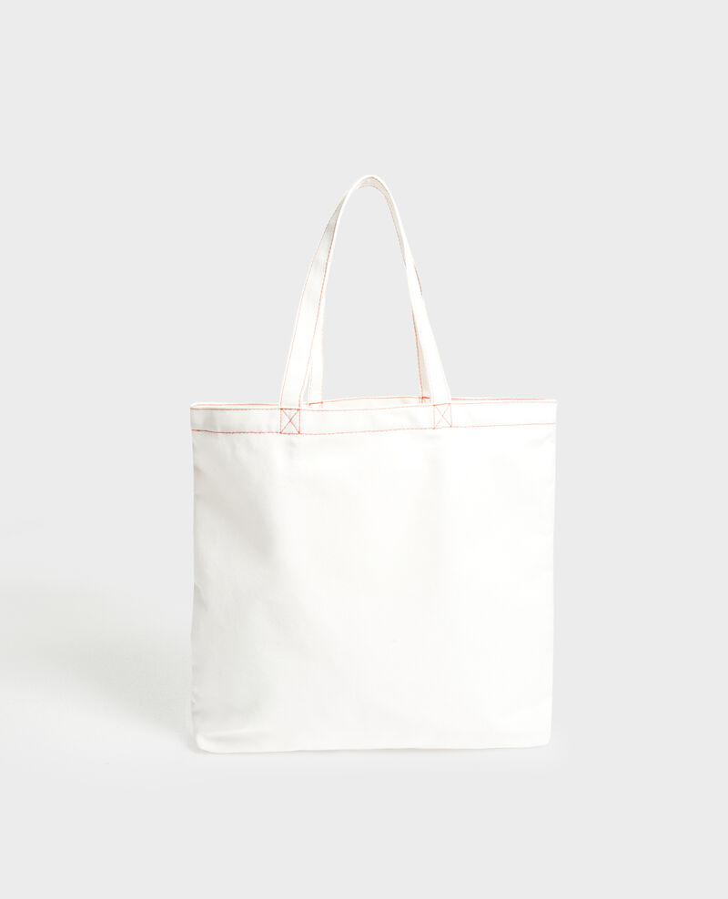 Printed canvas bag Valiant poppy Marisienne