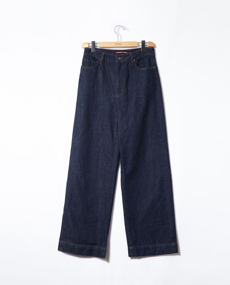 Wide full-length jeans Blue Glin