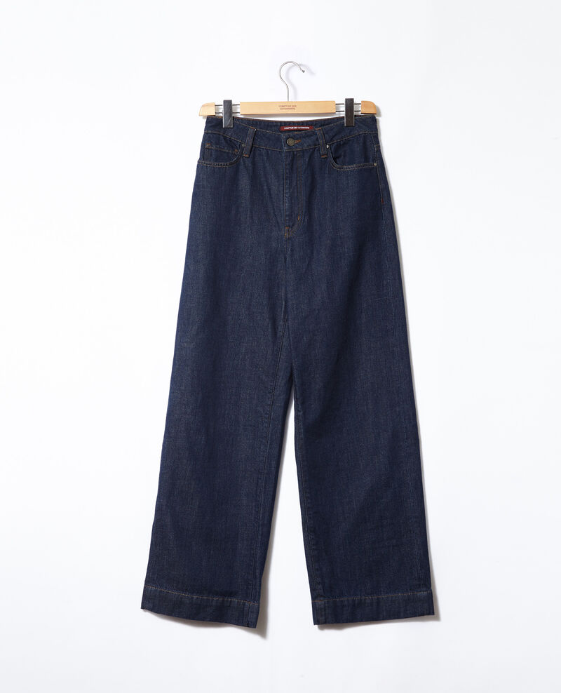Wide full-length jeans Blue Glin