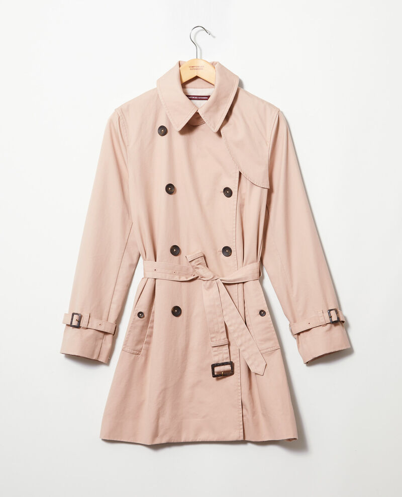 Timeless trench coat Pink beige Isore