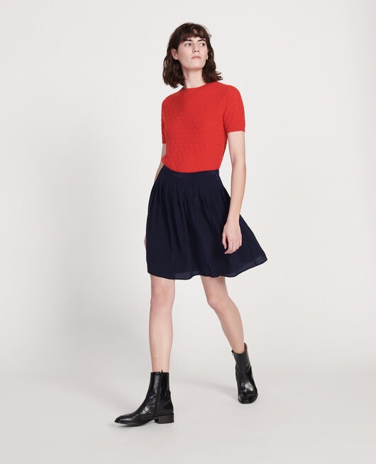 Loose skirt MARITIME BLUE