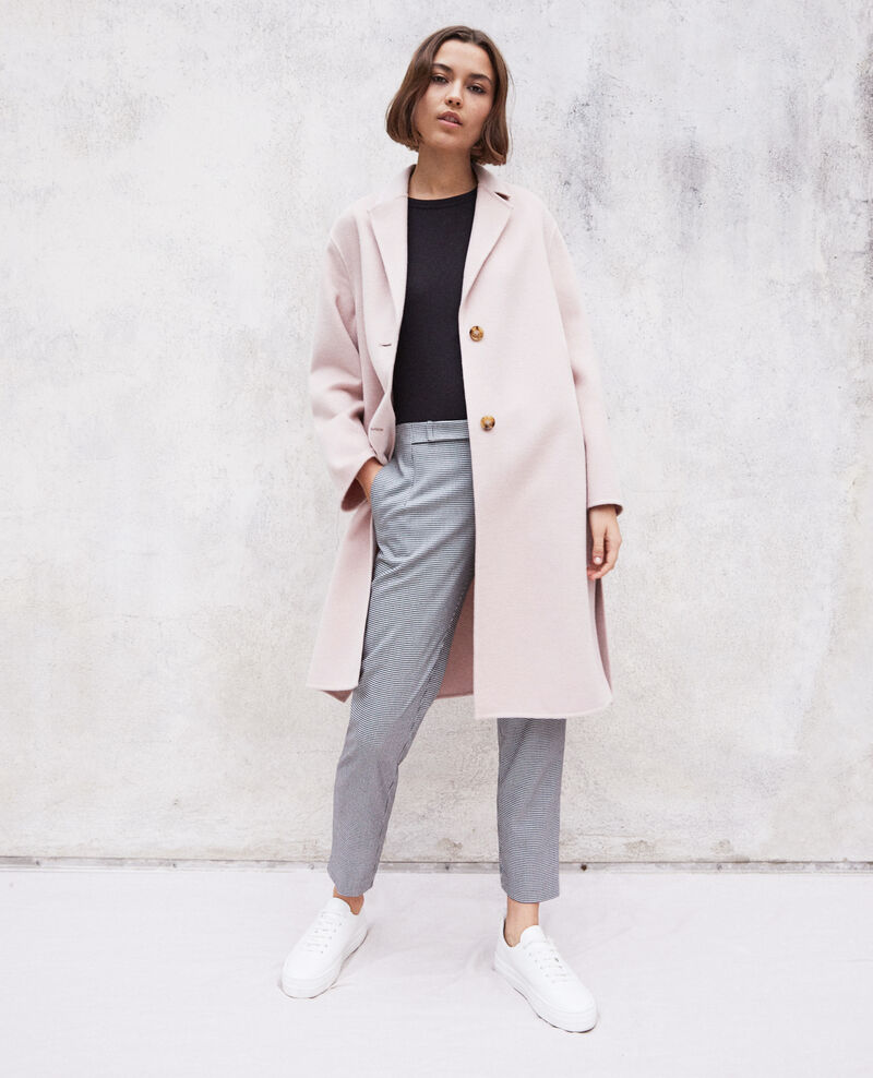 Double-sided coat Pink icing Irelie