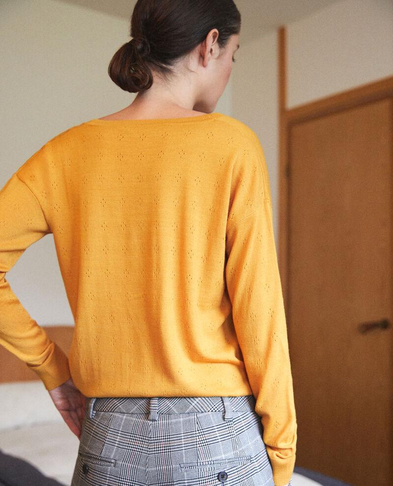 Merino wool jumper Golden spice Garago